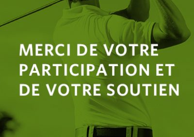 Tournoi de golf 2019, un franc succès !