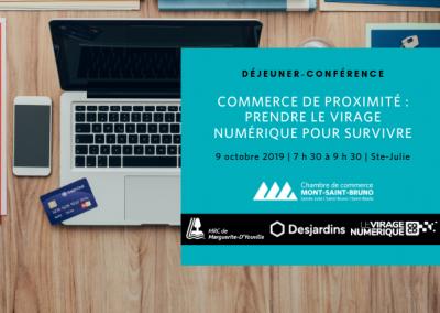 Déjeuner-Conférence | Commerce de proximité : prendre le virage numérique pour survivre