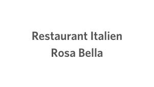 Restaurant Italien Rosa Bella